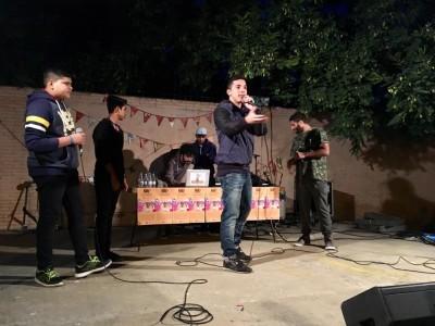 Taller 'Rap in Raval'