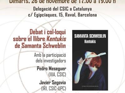 'Inspiraciència en OFF: Ciència, lectura i croissants'