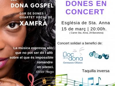 'Dones en concert'