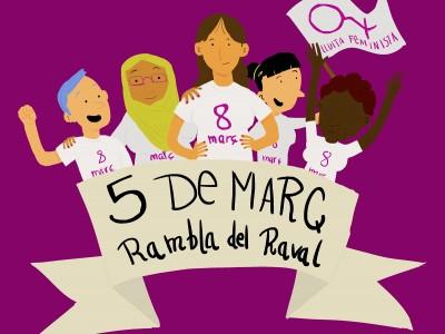 Actes Taula Jove pel Dia de les Dones