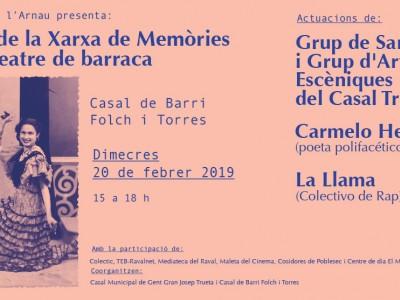 Festa de la xarxa de memòries d'un teatre de barraca