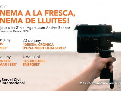 5a edició 'Cinema a la Fresca, cinema de lluites!'
