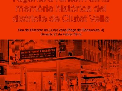 jornada de mapatge sobre la memòria històrica de ciutat vella