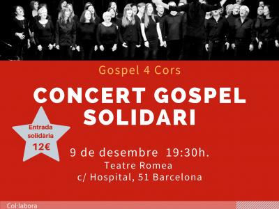 Concert de Gospel Solidari