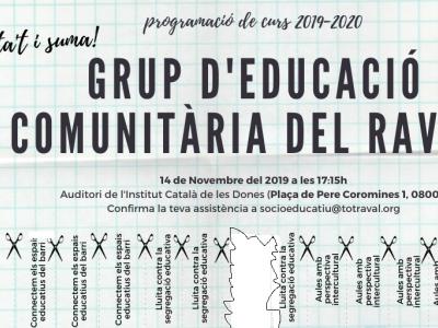 Plenària del Grup d'Educació Comunitària del Raval