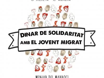 Dinar de solidaritat amb el jovent migrat