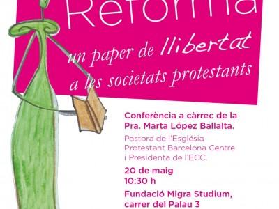 Conferència 'Dona i reforma'