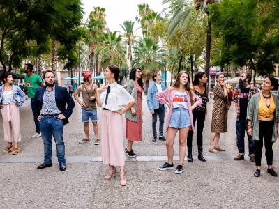 Teatre: 'Carrer Hospital amb Sant Geroni'