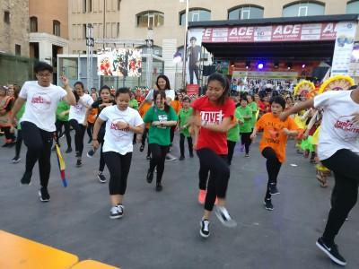 Dia dels Joves de la comunitat filipina