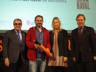 El Raval, guardonat als Premis Respon.cat 2016
