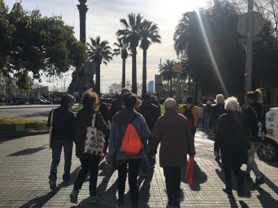 Les caminades 'Movem el Raval' inicien la 4a edició