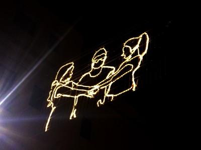 #RavalKm0 il·lumina el barri per Nadal