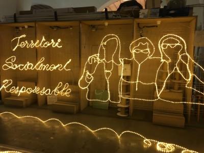 Vine a donar la benvinguda al Nadal al Raval!