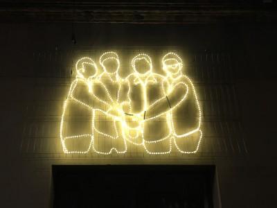 Comença el nou projecte d'il·luminació de Nadal!
