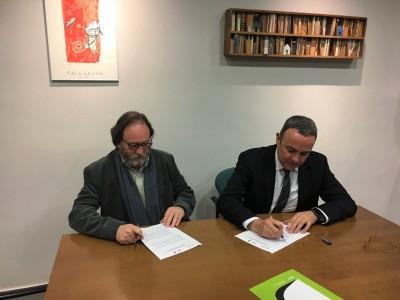 La Xarxa Laboral signa conveni amb Barcelona Oberta