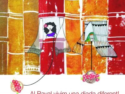 Celebrem la 15a edició de Sant Jordi al Raval