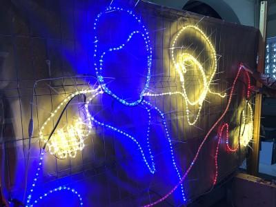 Festa d'encesa de llums #RavalKm0 2019