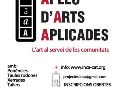 """APLEC d'ARTS APLICADES """"L'art al servei de les comunitats"""""""