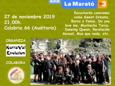 Concert solidari a favor de la marató de tv3