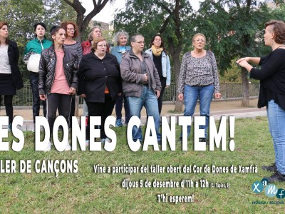 'Les dones cantem!'
