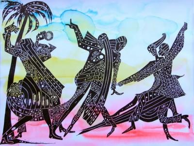 'Makha Diop: Un ritual'