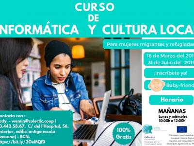 Curs d'informàtica i cultura local
