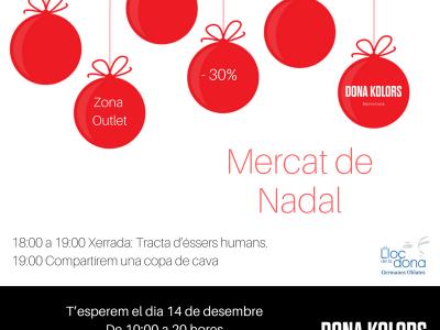 Mercat de Nadal Dona Kolors