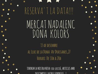 Mercat de Nadal de Dona Kolors