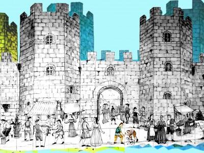 'Vine a construir les muralles de Barcelona'