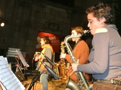 Concert de nadal i xocolatada a les Rambles