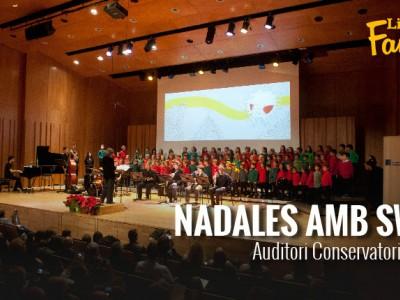 'Nadales amb Swing' al Conservatori del Liceu
