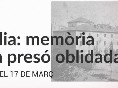 'Amàlia, memòria d'una presó oblidada' Inauguració