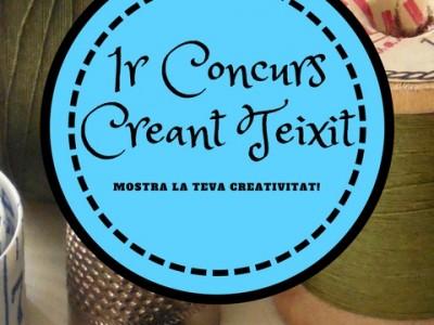 """I Concurs de disseny """"Creant teixit"""""""