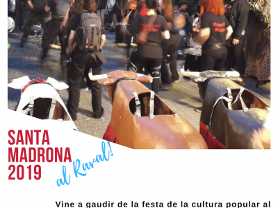 Santa Madrona 2019 al Raval
