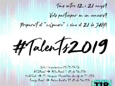 Concurs #talents2019